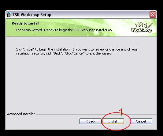 [Débutant] Manipuler TSRW - Installation du logiciel TSR Workshop  04_bmp10
