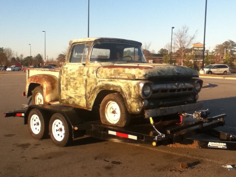 1957 Ford F100 Custom Cab For Sale Douglasville, GA Trains10