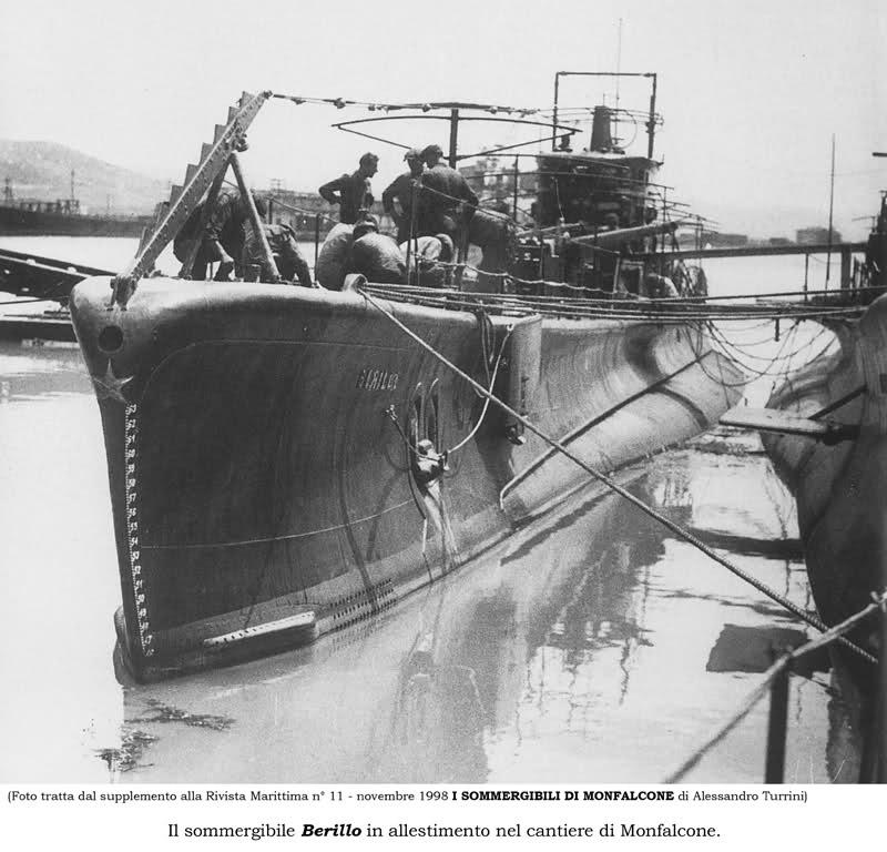 La guerre sous-marine et de surface 1939 - 1945 - Page 44 Berill10