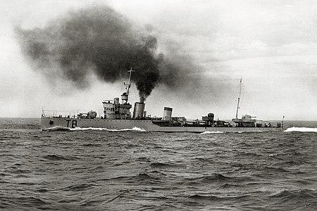 La guerre sous-marine et de surface 1939 - 1945 - Page 35 Destro10