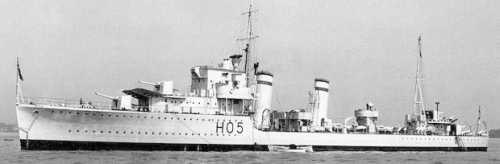 La guerre sous-marine et de surface 1939 - 1945 - Page 3 Greyho12