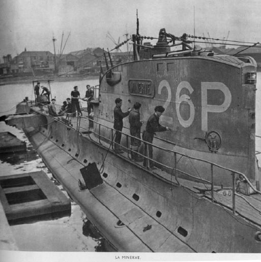 La guerre sous-marine et de surface 1939 - 1945 - Page 66 Minerv10