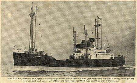 La guerre sous-marine et de surface 1939 - 1945 - Page 3 Puriri10
