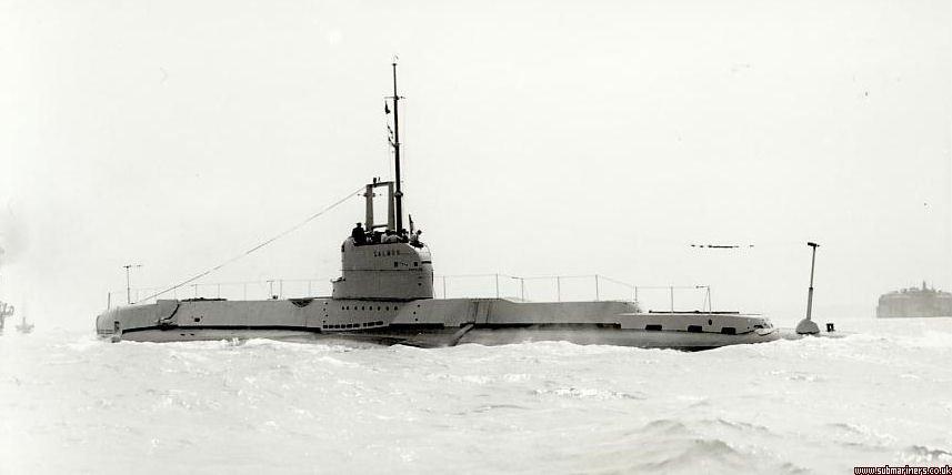 La guerre sous-marine et de surface 1939 - 1945 - Page 37 Salmon11