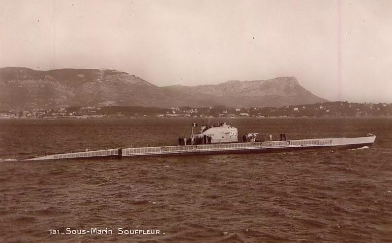 La guerre sous-marine et de surface 1939 - 1945 - Page 6 Soufle10