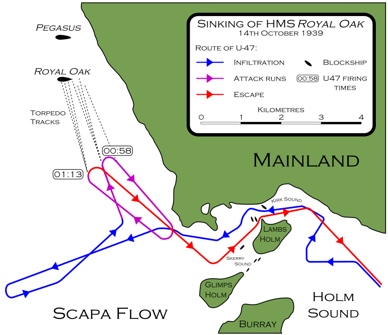 La guerre sous-marine et de surface 1939 - 1945 - Page 6 U47_ra10