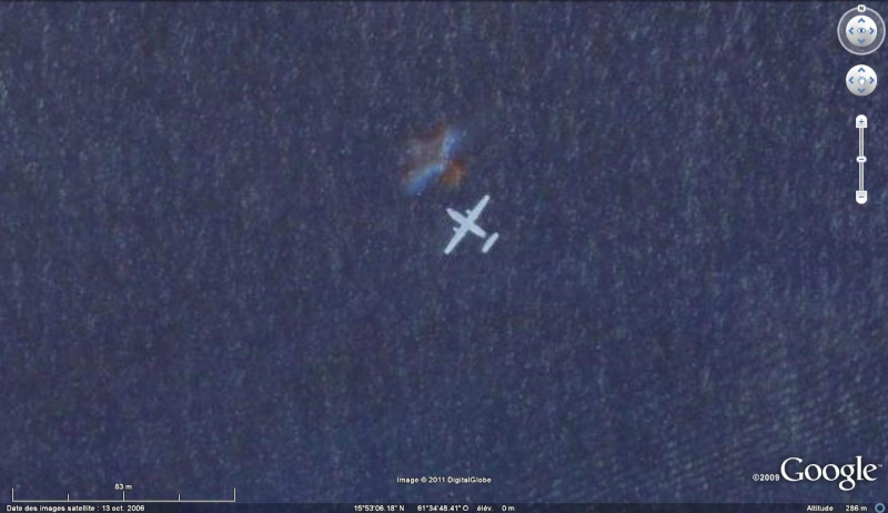 Les avions en phase d'atterrissage aperçus sur Google Earth Avion_13