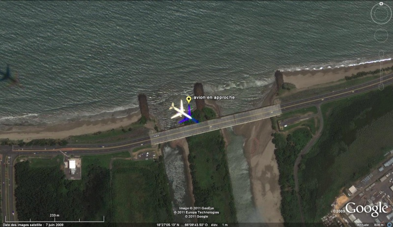 Les avions en phase d'atterrissage aperçus sur Google Earth Avion_14