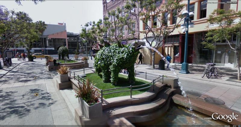 STREET VIEW : Les statues d'animaux dans le monde Stegos10