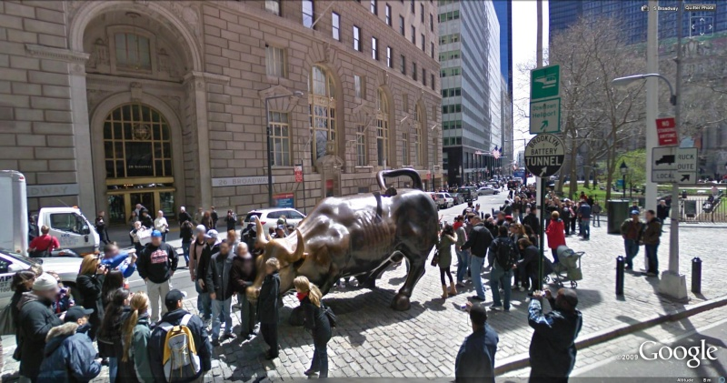 STREET VIEW : Les statues d'animaux dans le monde Taurea10