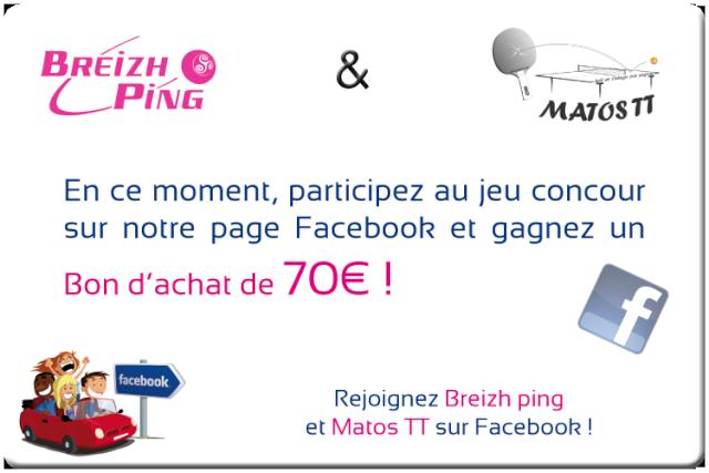 Breizh ping, votre revendeur de Tennis de table Jeu-fb11