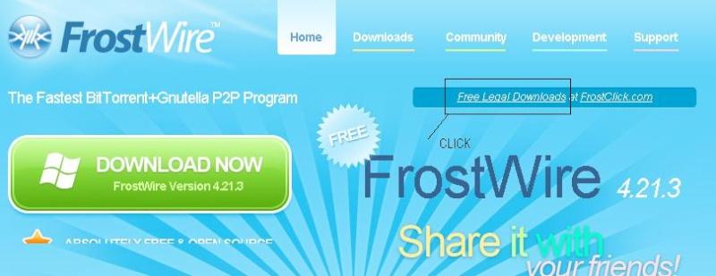 FROSTWIRE application 310