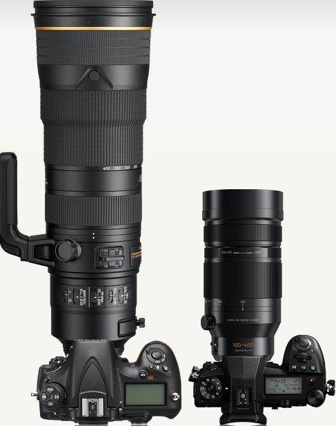 Olympus 150-400mm f/4.5 ou f/4 180-4010
