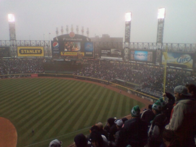 Cold and fog at the ballpark with Tele and Oh-mega. 21039310