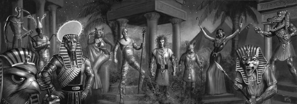 Pesedjet - Mitología Egipcia Dioses11