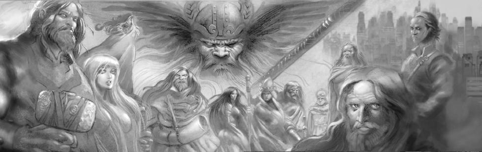 Aesir - Mitología Nórdica Dioses12
