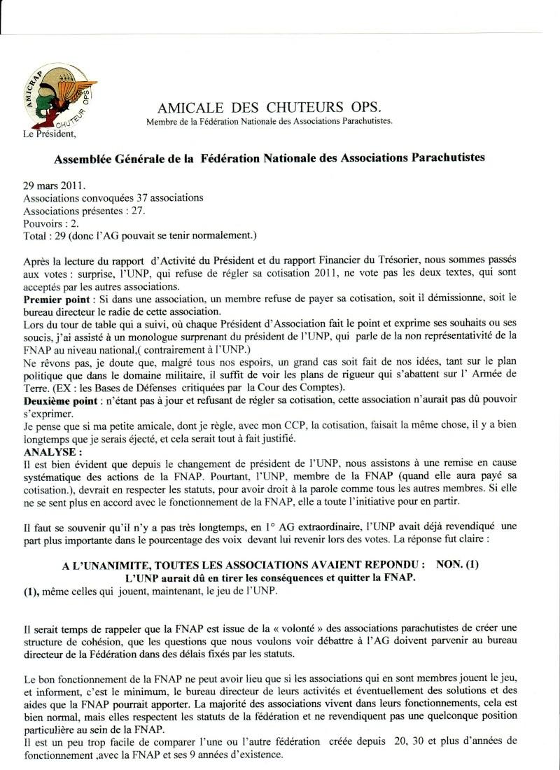 THOMANN Jean-Claude GCA - Président du Club des Chefs de section parachutistes au feu - Il est indispensable de se mettre en ordre de bataille Fnap_m10