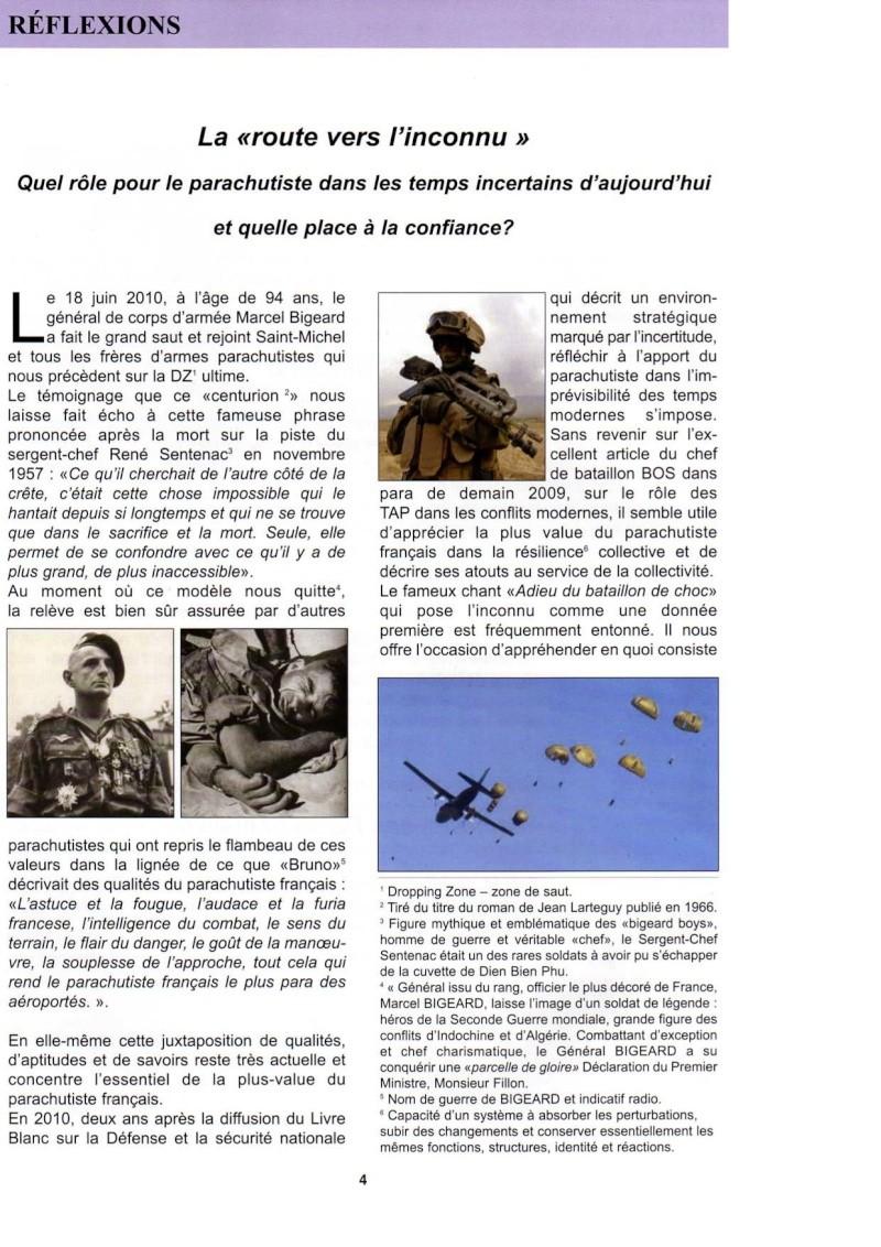 """La """"route vers l'inconnu"""". Quel rôle pour le parachutiste dans les temps incertains d'aujourd'hui  La_rou10"""