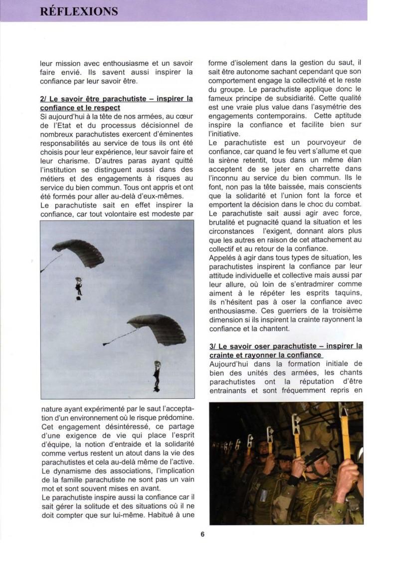 """La """"route vers l'inconnu"""". Quel rôle pour le parachutiste dans les temps incertains d'aujourd'hui  La_rou12"""