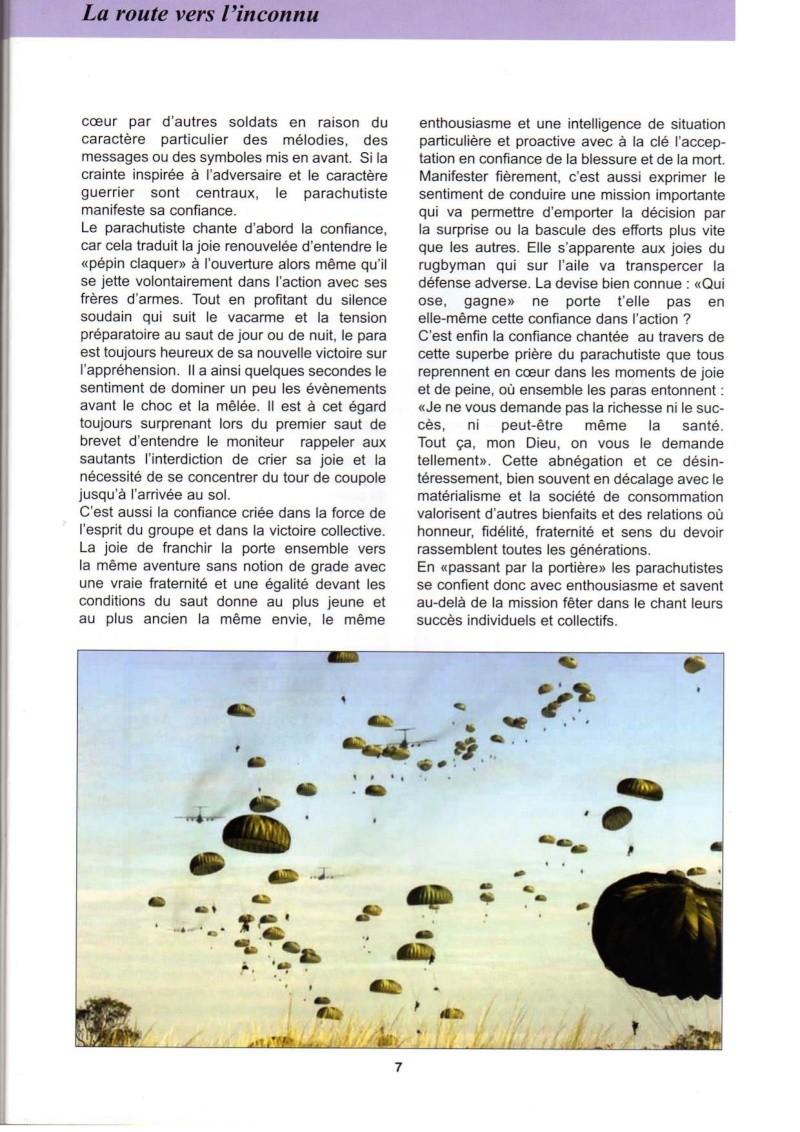 """La """"route vers l'inconnu"""". Quel rôle pour le parachutiste dans les temps incertains d'aujourd'hui  La_rou13"""
