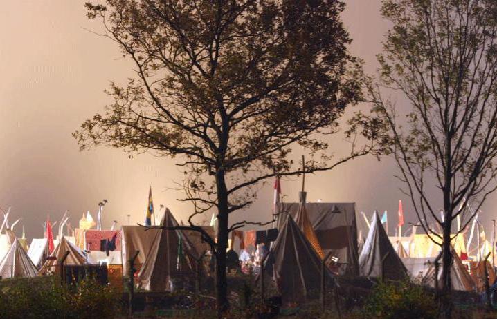 Палаточный лагерь Tent110
