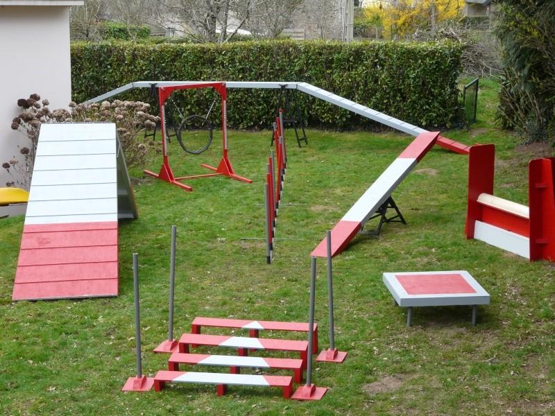 chiot - Fabricant D'obstacles d'agility--Obstacles évolutif--Agrès multi éveil chiot--PRO-- 00911
