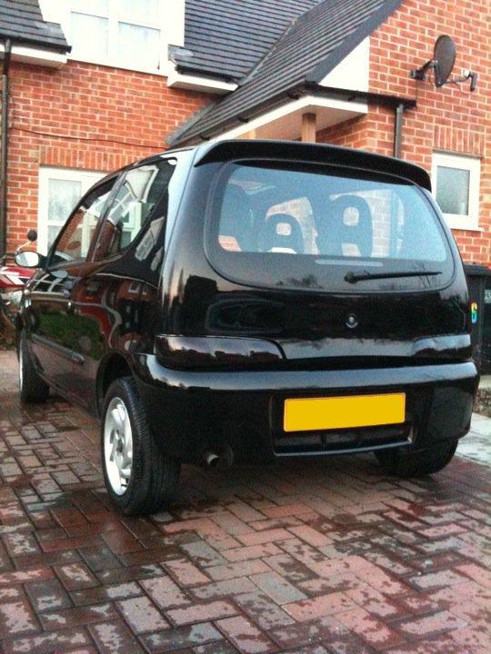 M1C4A3L's Fiat Seicento Clean10