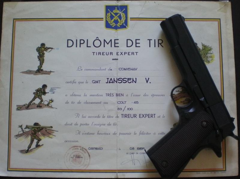 Equipe de tir sportif ZM/FN 1973 en route pour Bourg Leopold - Page 2 Diplom10