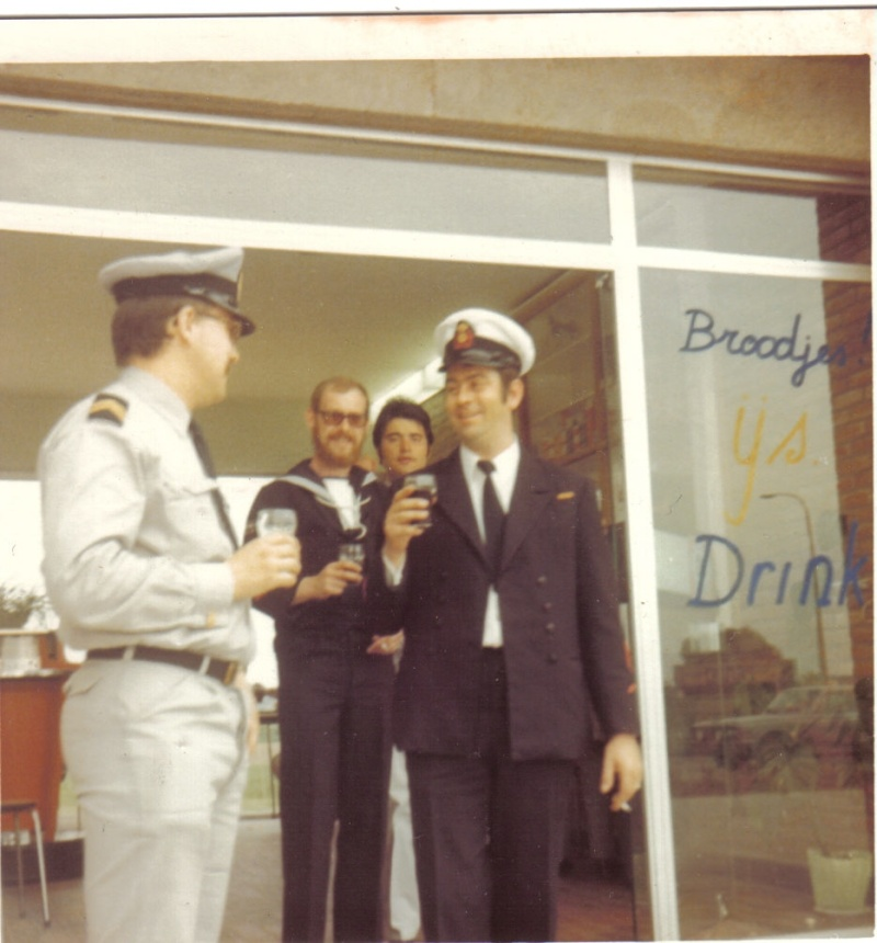 Equipe de tir sportif ZM/FN 1973 en route pour Bourg Leopold En_rou13
