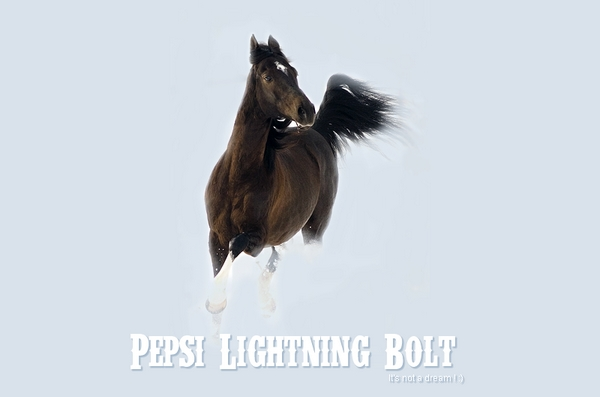 Pepsi Lightning Bolt