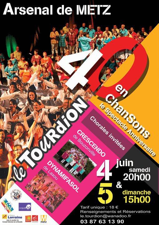 Le TOURDION fête ses 40 ans les 4 et 5 juin prochain 21507611