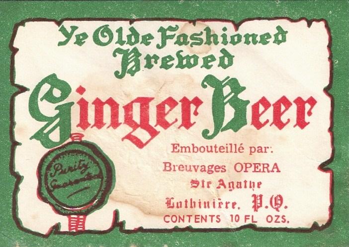 GINGER BEER OKEEFES SUR ETIQUETTE  Ginger11