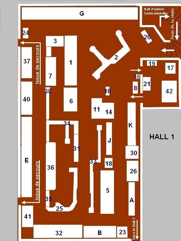 2 eme Salon National de Modélisme Ferroviaire 7 & 8 septembre BUGEAT 19170 Plan_b11