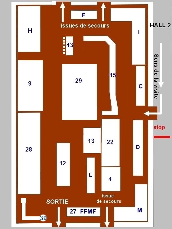 2 eme Salon National de Modélisme Ferroviaire 7 & 8 septembre BUGEAT 19170 Plan_b12