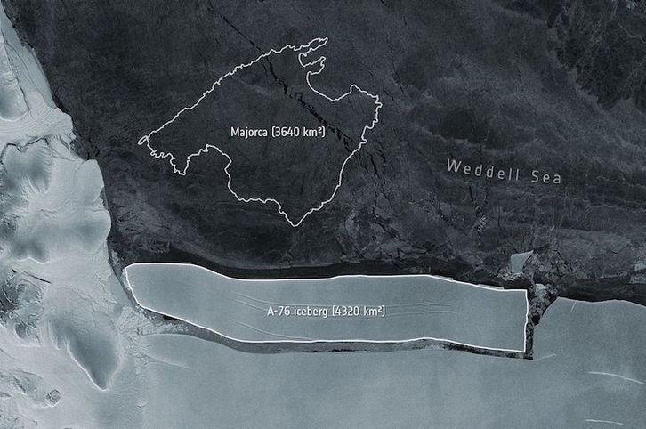 Antártida: El ritmo del deshielo se triplica en 30 años. [Calentamiento. Clima. cambio climático] Iceber10