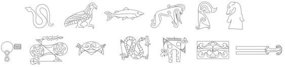 Pictos. Simbología, lenguaje, actividades sociales. [Historia] Img_dr13