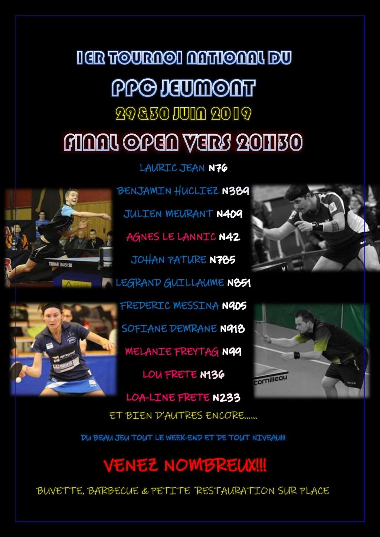 1er tournoi national du PPC JEUMONT LE 29 et 30 juin 2019 !! Affich10