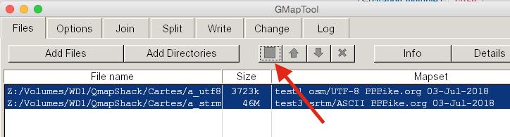 Visualisation fichier IMG sous GPS64S: carte de CHINE Captur14