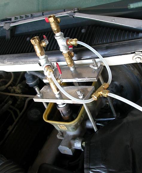 Pressure Bleeding the brakes ? Powerb11