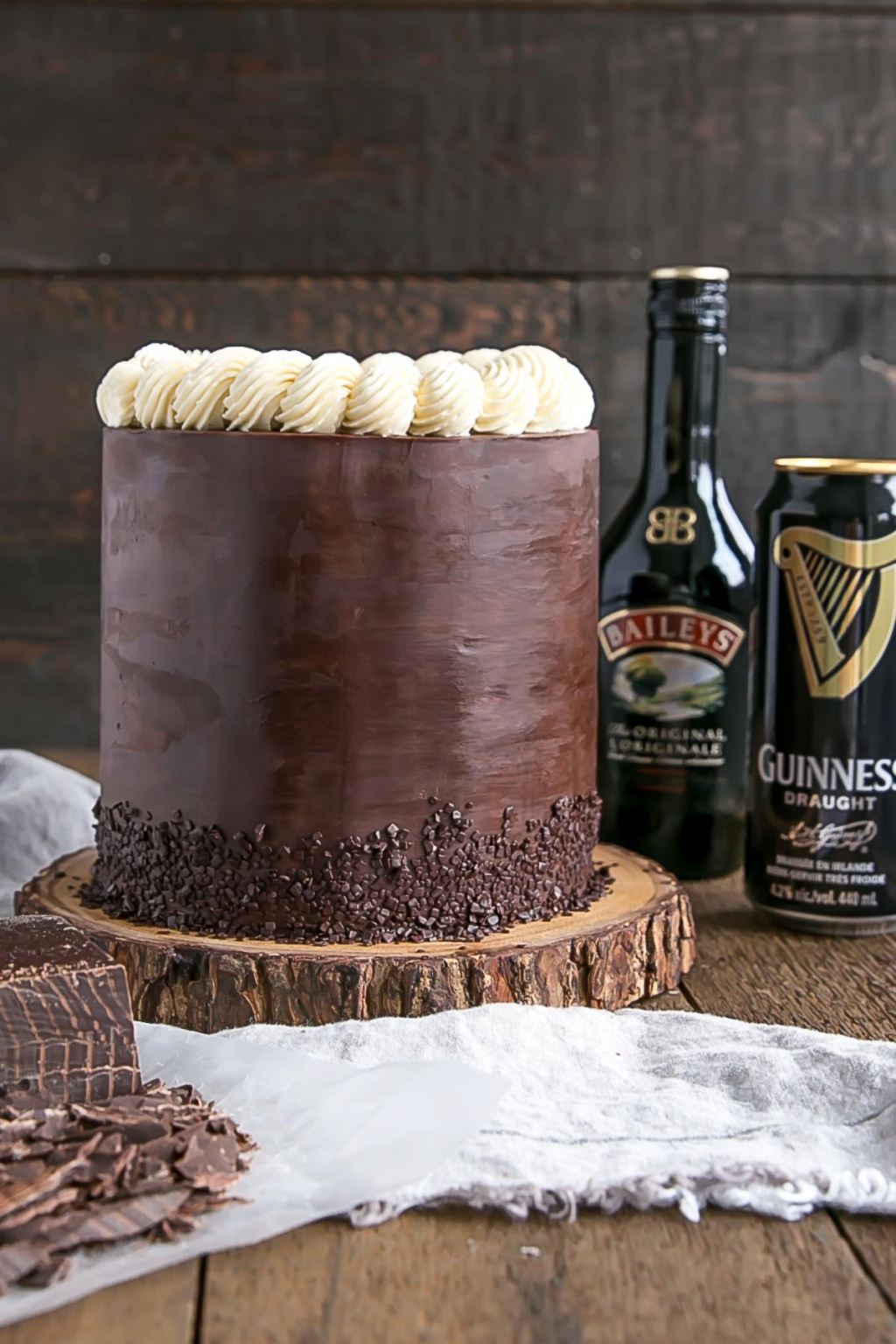 This super-chocolatey Guinness and Baileys cake might just be the best thing ever invented Bailey12