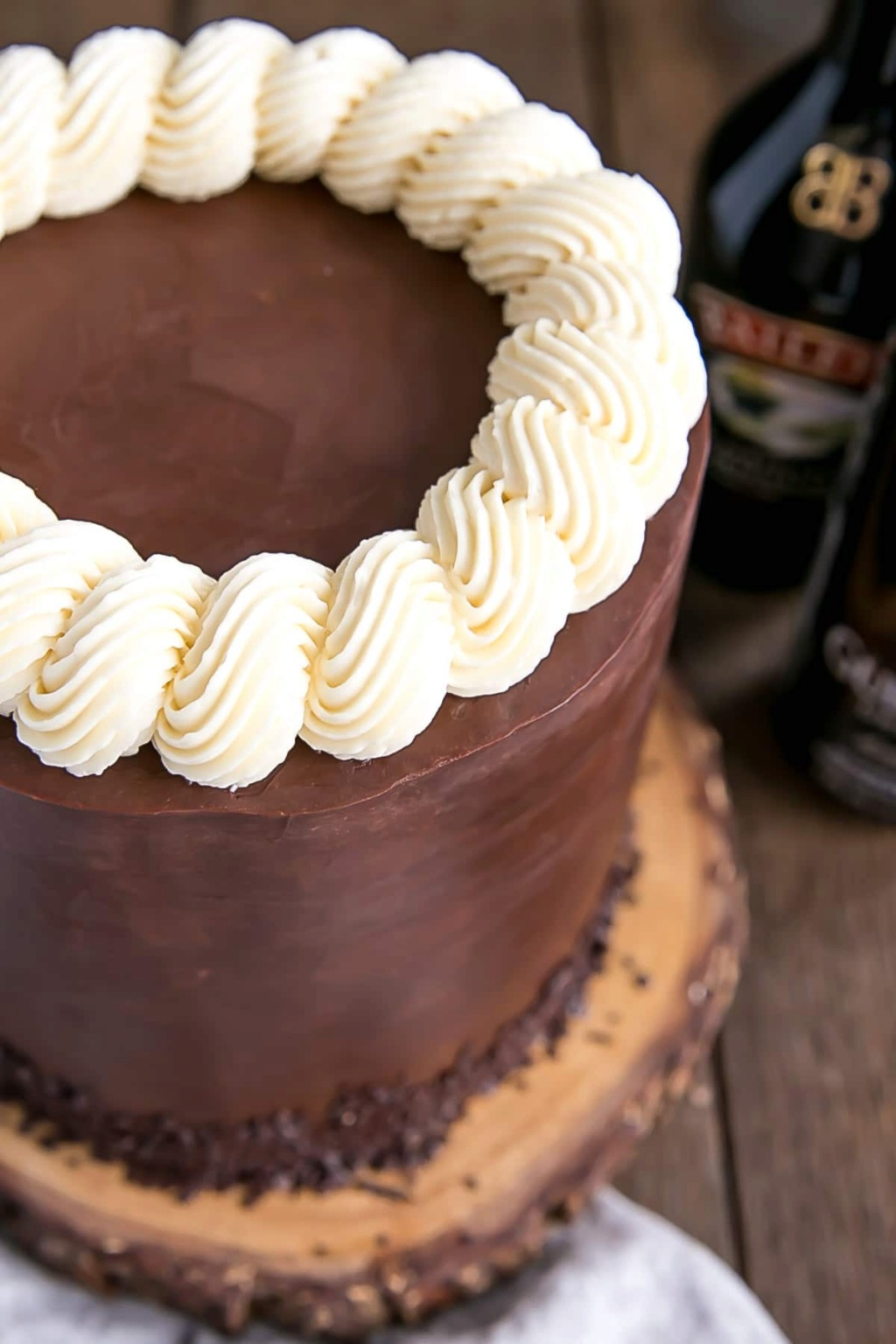 This super-chocolatey Guinness and Baileys cake might just be the best thing ever invented Bailey13