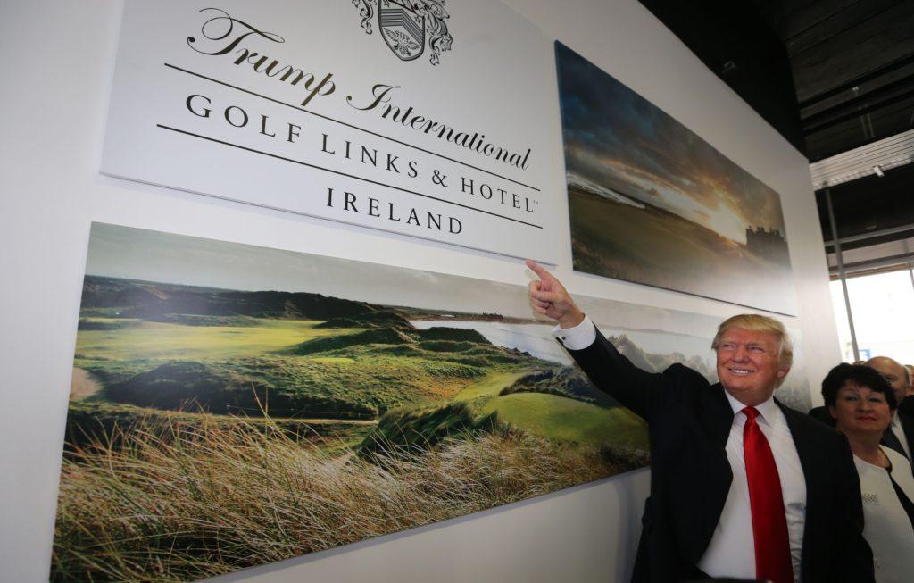 Could Donald Trump escape to Ireland to avoid Joe Biden's inauguration? Trump-10