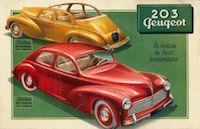 Les Peugeot de la série 03