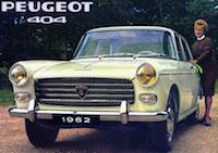 Les Peugeot de la série 04