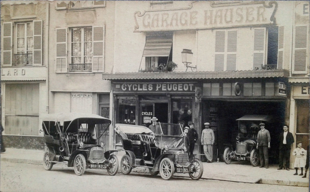 Cartes Postales Anciennes de garages PEUGEOT (Garages, Agences et Concessions) - Page 2 51_cha11