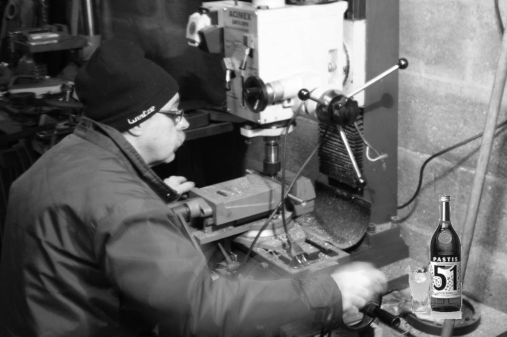 Un ouvrier de chez Peugeot  Alainp10