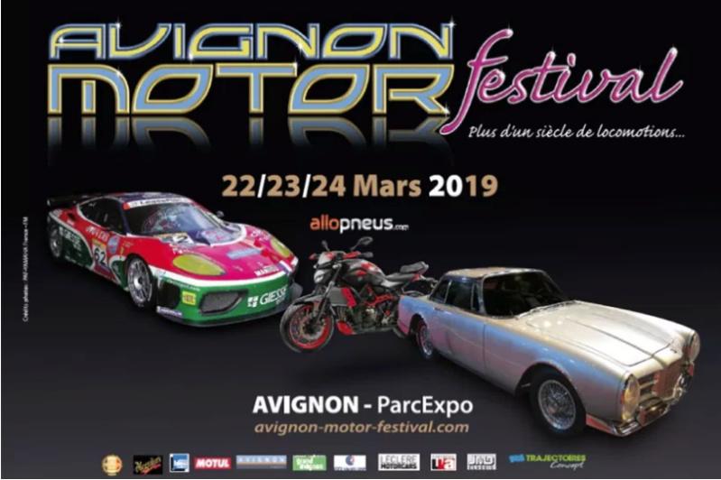 Des Amis des Peugeot 01 se retrouveront au 17ème AVIGNON MOTOR FESTIVAL (du 22 au 24 mars 2019) Avigno10