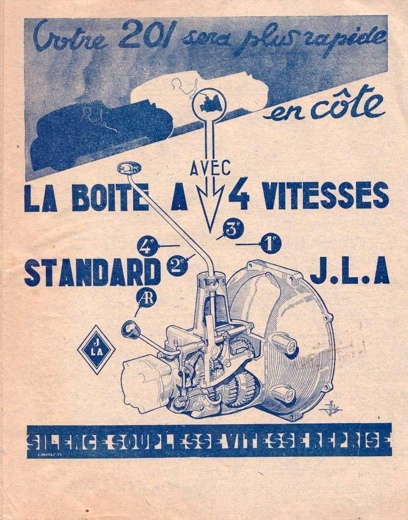 La boîte JLA 4 vitesses Boite411
