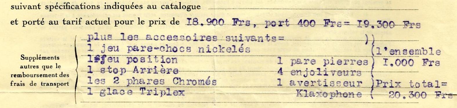 DES ACCESSOIRES D'ÉPOQUE POUR 201 1931 Comman11