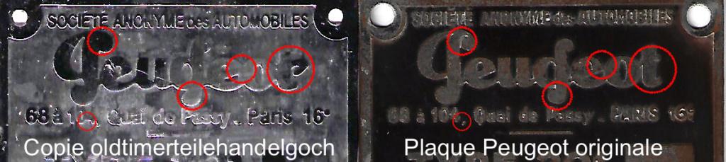 Re-fabrication de plaques constructeur pour 01 : Première étape - plaques 201 en LAITON gravées à l'acide Compar10